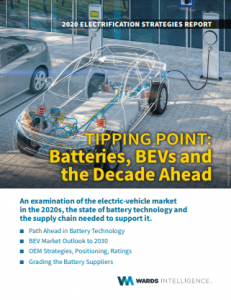 Batteries, BEVs and the Decade Ahead report