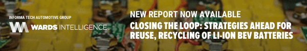 Closing The Loop: Strategies Ahead For Reuse, Recycling Of Li-Ion BEV Batteries